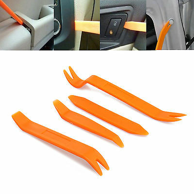 4x Car Radio Stereo Door Trim Dash Panel Install Removal Pry Tools Kit Set