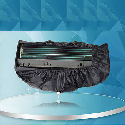 Universal Waterproof Air Conditioner Cleaning Cover Case Hanging Protector New