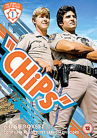 CHiPs: Complete Season 1 [DVD] [2007] First Series BRAND NEW REGION 2 SEALED