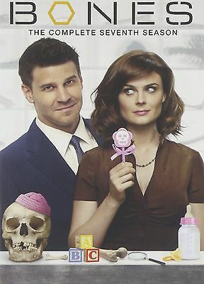 Bones - Season 7 [DVD] Complete Seventh Series Box Set BRAND NEW REGION 2 SEALED