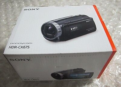 Sony HDR CX675 Full HD 32GB Camcorder Black