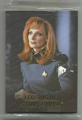 2007 Legends of Star Trek BEVERLY CRUSHER Set of 9 SEALED Cards L1-L9 0559/1701