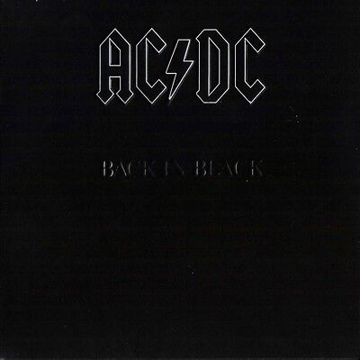 AC/DC Back In Black 180g REMASTERED Embossed Sleeve ACDC New Sealed Vinyl LP
