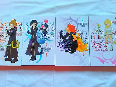 Kingdom Hearts 358/2 Days Manga Collection, Volumes 1-4