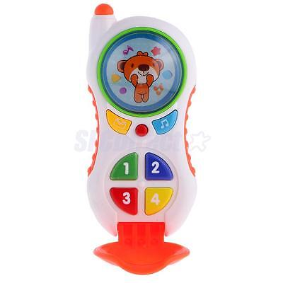 Kids Colorful Flip Phone with Sound Baby Children Learning Educational Toys