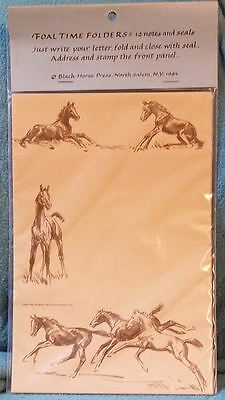 FOAL TIME Folded Notes with Seals - Sam Savitt - New In Pack