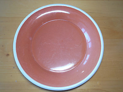 "Sonoma Life+Style MENDOCINO RUSSET Set of 3 Dinner Plates 11 1/2"" Red Rust"