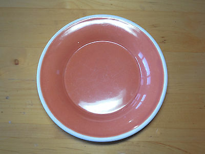 """Sonoma Life+Style MENDOCINO RUSSET Salad Plate 9"""" Red Rust 1 ea  4 available"""