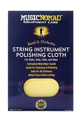 Music Nomad MN731 String Instrument Microfiber Polishing Cloth for Orchestra