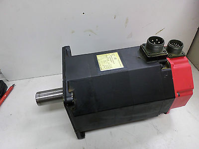 FANUC 10S AC SERVO-MOTOR - 12Nm 2000rpm - PULSE CODER  8 POLE - A06B-0315-B005