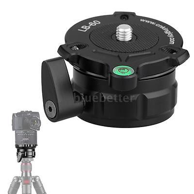 """69mm Leveling Base Panning Level for All Tripods w/ 1/4"""" 3/8"""" Thread New E6I3"""