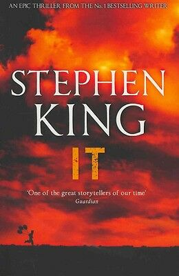 It by Stephen King Paperback Book (English)