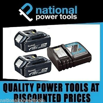 Brand New Genuine Makita Battery / Charger Pack 18 Volt 4.0Ah Bl1840B Dc18Rc