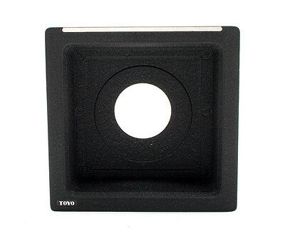 Toyo 24mm Recessed Lens Board with Copal 0 Opening for Toyo View Cameras 24927
