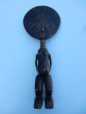African Ethnographic  Small  Statue  From Country House Collection 20Th C  B