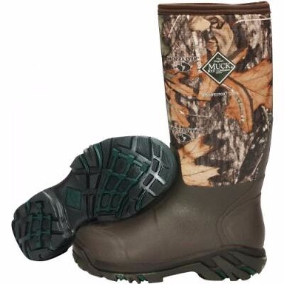 Muck Boots Muck Woody Sport Cool Boot Mossy Oak Country Size 7 Ws2-Moct-7