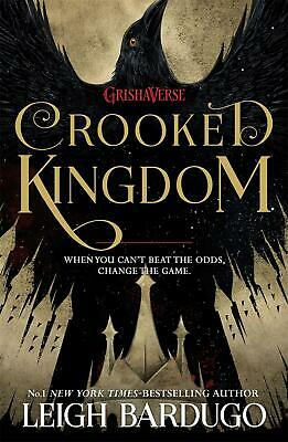 Six of Crows: Crooked Kingdom: Book 2 by Leigh Bardugo Paperback Book Free Shipp