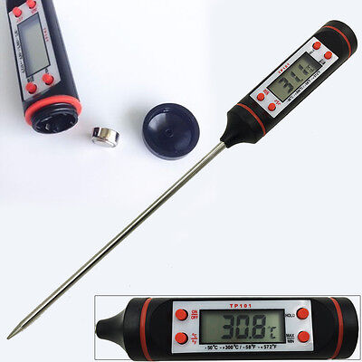Digital Food Liquid Jam Temperature Probe Thermometer Cooking BBQ Kitchen Gadget