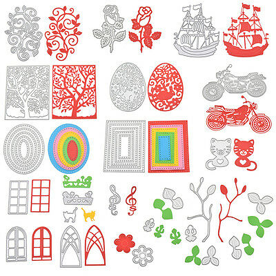 Metal Cutting Dies DIY Scrapbook Embossing Photo Album Paper Card Handmade Craft