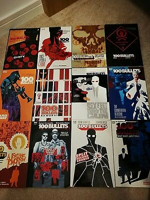 100 Bullets Graphic Novel Complete full issue 1 - 100 collection