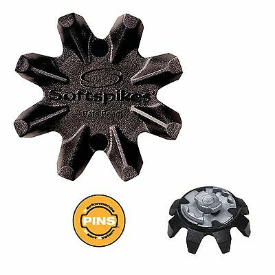 Softspikes BLACK WIDOW Classic Golf Cleats PINS Insert System