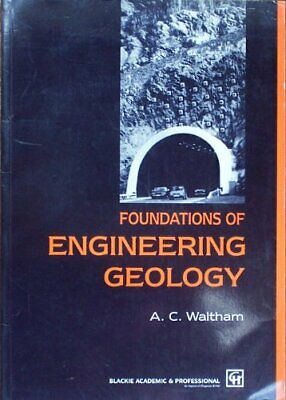 Foundations of Engineering Geology, Waltham, Tony Paperback Book The Cheap Fast