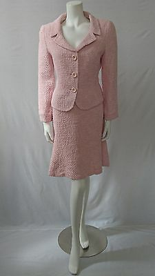 Hobbs Size 14 Boucle Tweed Skirt Suit Size 14