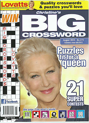 Christines Big Crosswords & Puzzles 70+Pages By Lovatts Quality Crosswors Free P