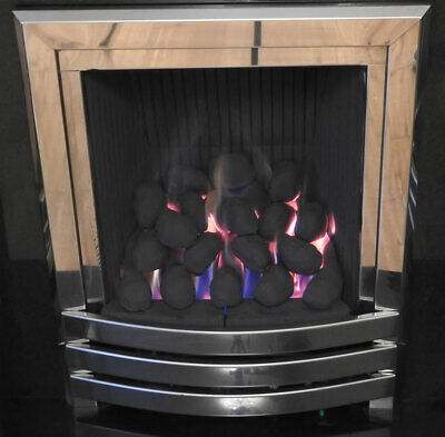 22 High Thermal Gas Fire Replacement Coals LARGE Oval Shape  Coal RCF Artificial