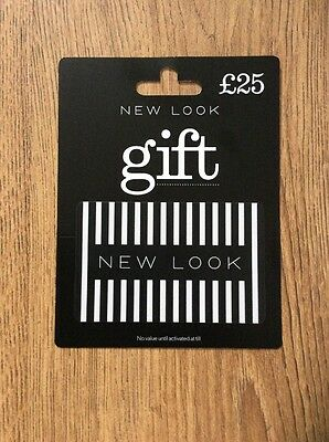 New Look Gift Card Voucher Clothes Shopping £25 Total Value Brand New