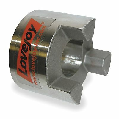 """Lovejoy SS095 1/2"""" Stainless Steel Jaw Coupling Hub, Keyway: Yes - SS09512"""