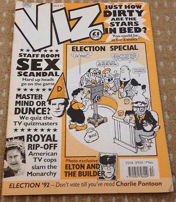 Viz Adult Comic Magazine - Issue 53 April/May 1992 - FREEPOST