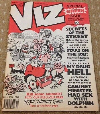 Viz Adult Comic Magazine - Issue 40 - FREEPOST