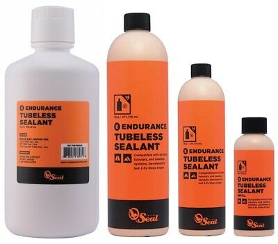 Orange Seal Endurance Tube & Tubeless Tyre Sealant: 8, 16 & 32oz Refill Bottles