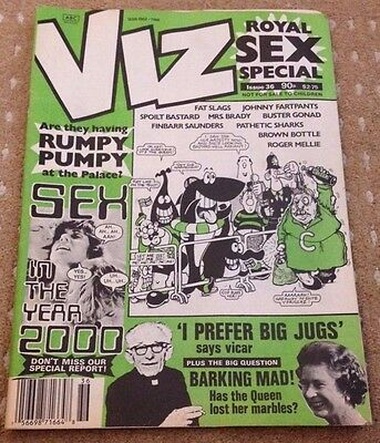 Viz Adult Comic Magazine - Issue 36 - FREEPOST