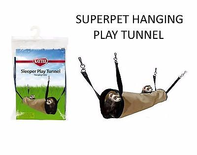 Super Pet Kaytee Hanging Play Tunnel Small Animal Chinchilla Pet Rat 62132