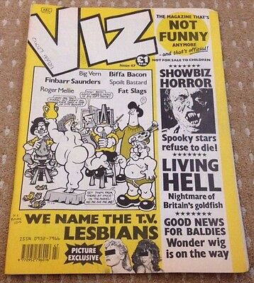 Viz Adult Comic Magazine - Issue 47 - FREEPOST