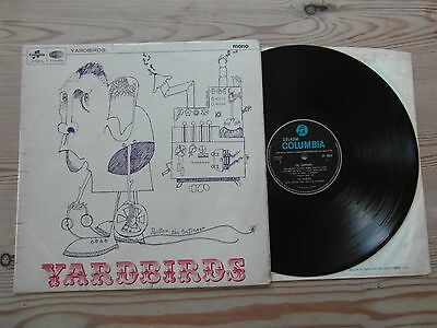 YARDBIRDS - ROGER THE ENGINEER-1st UK MONO PRESS-GREAT AUDIO-VG+ EX VINYL LP1966