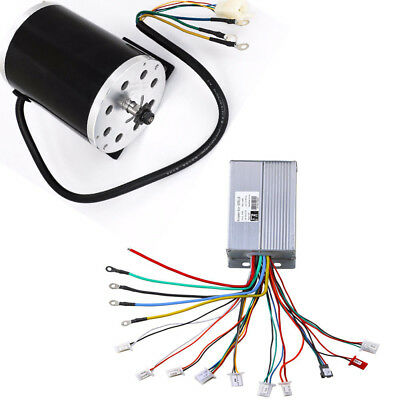 1800W 48V Brushless DC Motor Engine Speed Controller Bicycle E-bike Scooter ATV