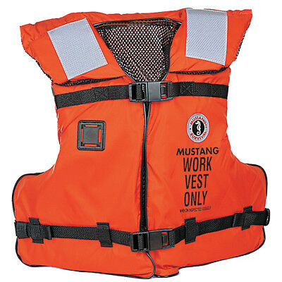 Mustang Work Vest With Solas Tape [Mv3192]
