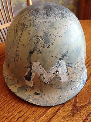 Iraqi Army M80 Helmet From The First Gulf War. Genuine.