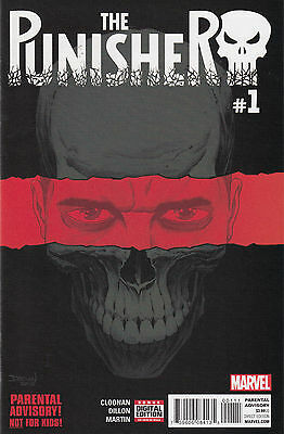Marvel Comics Punisher (2016) #1-4, 6-10, Annual 1, complete, Near Mint!