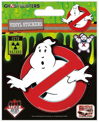 Ghostbusters 3 Stickerset Sticker Aufkleber 10x12,5 cm
