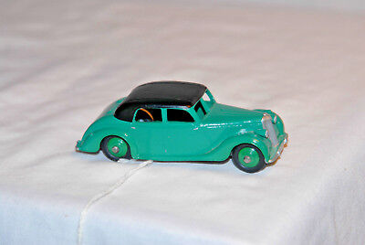 1948 Riley Saloon #158 1/43 scale, diecast, vintage by Dinky from England.