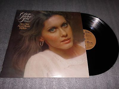 Olivia Newton John 'Have You Never Been Mellow' Vinyl Album EMI Records