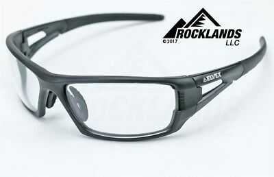 Elvex RimFire™ Safety/Shooting/Tactical Glasses Clear Lens Ballistic Z87.1