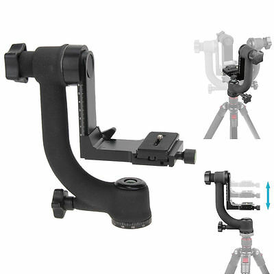 HOT~ Movo Pro Panoramic Gimbal Pan Tripod Head for Telephoto Lens DSLR Camera