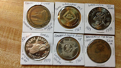 Tokens/souviners /collectable Lot Of 6