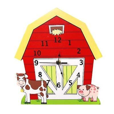 Primary Products Ltd Td-11328A Pendule Happy Farm Multi