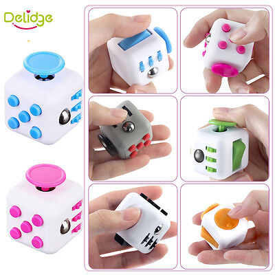 2017 Cute Antistress Cube Finger Activity Fidget Cube Out of Stress Fun Toy gift